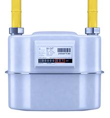 Compteur gaz traditionel