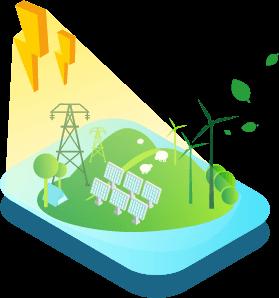 Leclerc énergie électricité verte